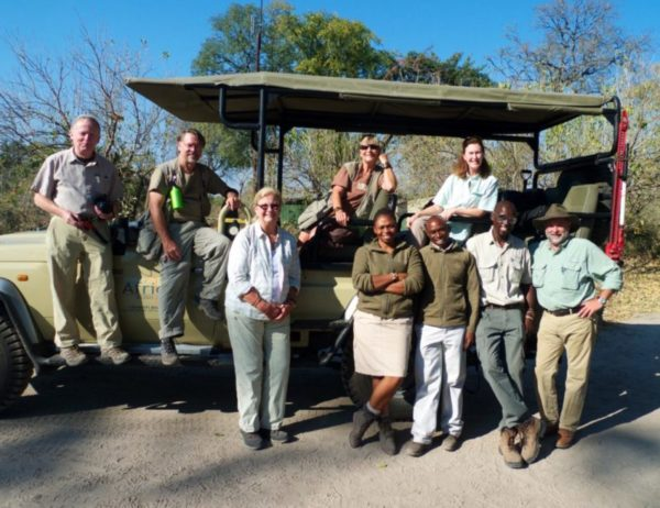 My gang of fellow photographers, Botswana